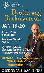 Spokane Symphony - Svorak and Rachmaninoff